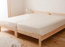 シンプルひのきすのこベッド