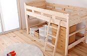 檜ロフトベッド